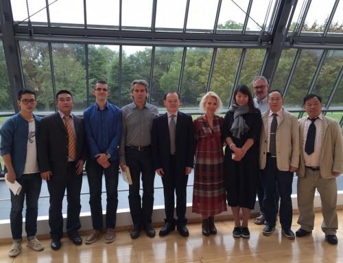 ChinaCare: Delegation aus Wuhan zu Kooperations-gesprächen am FIAP
