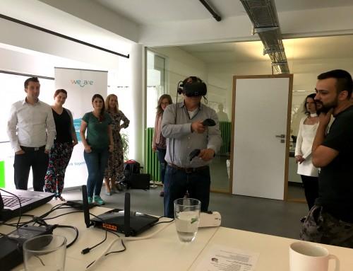 Kooperation in der virtuellen Realität: FIAP und We Are Solutions stellen VR-gestützte Arbeitsmodelle vor