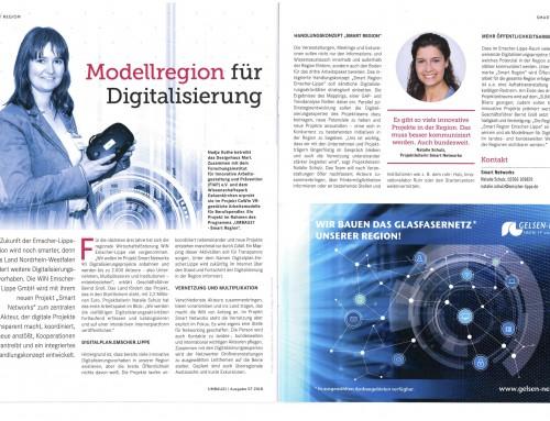"Modellprojekt CoWin im Magazin ""Smart Region – UMBAU21"""