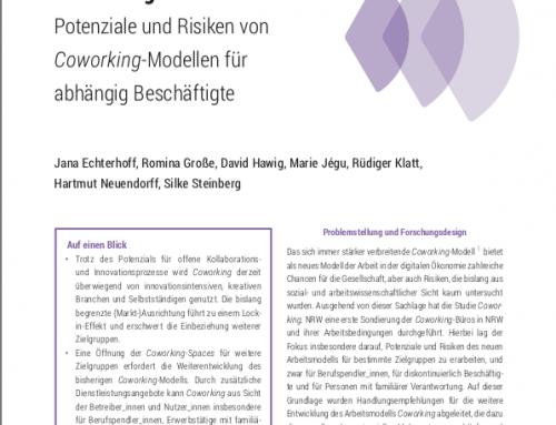 """FGW-Studie """"Coworking in NRW"""" online verfügbar"""