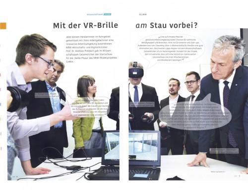 """Bericht über Gelsenkirchener Coworking-Space in der """"Wissenschaftspark Inside"""""""