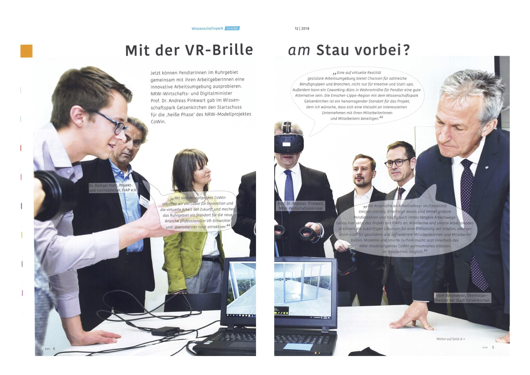 ce866ccc939 Article on the Coworking-Space's opening in Gelsenkirchen in the ...