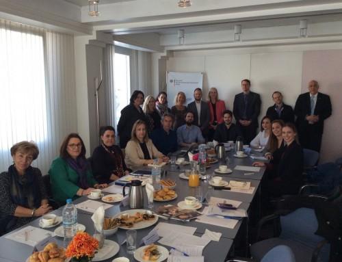 21.03.2019: Runder Tisch zur dualen Berufsausbildung bei der deutschen Botschaft Athen