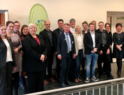 """Erste Beiratssitzung und Kick-Off Veranstaltung des Projekts """"Agile Pflege: Empowerment für eine Branche in Bewegung"""" in der Essener Philharmonie"""
