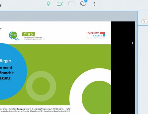 Dieses Mal digital – 3. Beiratssitzung im Projekt Agile Pflege