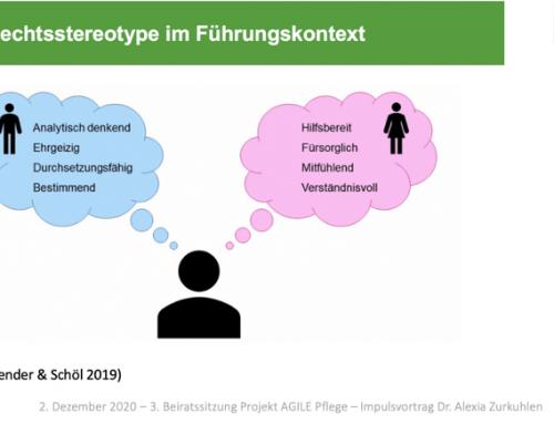 Gender und Pflege: wie Herz und Seele oder wie Hemd und Kragen? – ein vertiefter Einblick in die dritte Beiratssitzung des Projekts Agile Pflege