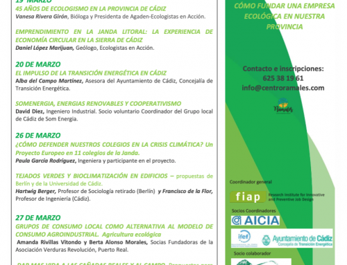 "GreenTecLab Spain – First ""Motivation Events"" in La Janda Green economy – a future for young people?"