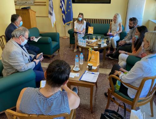 GreenTecLab – Projekttreffen in Piräus mit allen wichtigen Kooperationspartnern