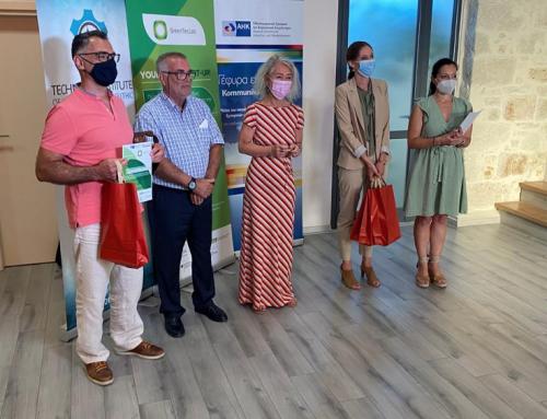 Grüne Ideen für den Klimaschutz und die Agrarwirtschaft – der erste Wettbewerb grüner Start-ups auf Kreta im Projekt GreenTecLab
